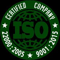 ISO 22000:2005 ISO 9001:2015