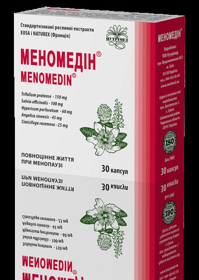 Меномедин® - полноценная жизнь при менопаузе!