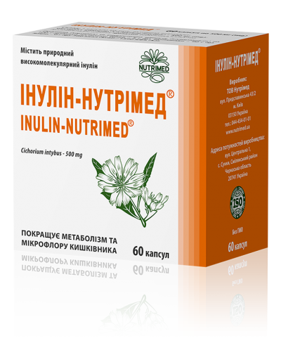 Inulin-Nutrimed®-original herbal medicine for metabolic control in diabetes and obesity