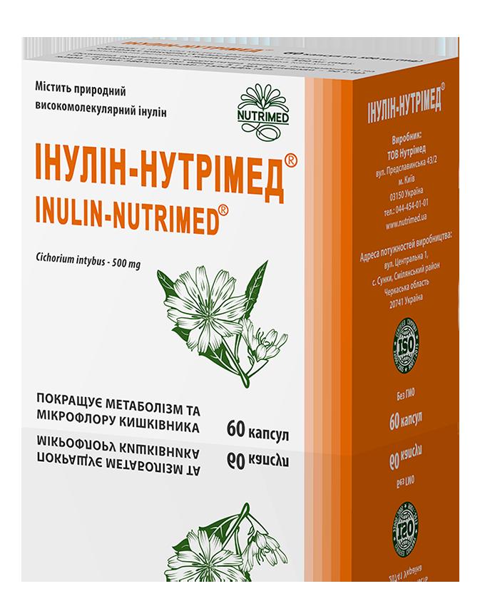 Інулін-Нутрімед® - оригінальний рослинний препарат при цукровому діабеті і ожирінні