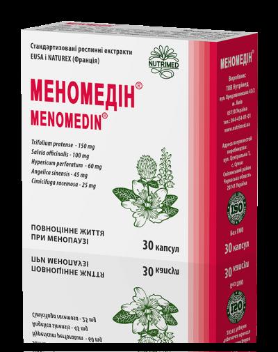 Меномедін® - повноцінне життя при менопаузі