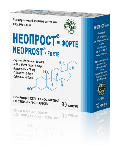 Neoprost® – forte-for prostate inflammation and benign prostatic hyperplasia