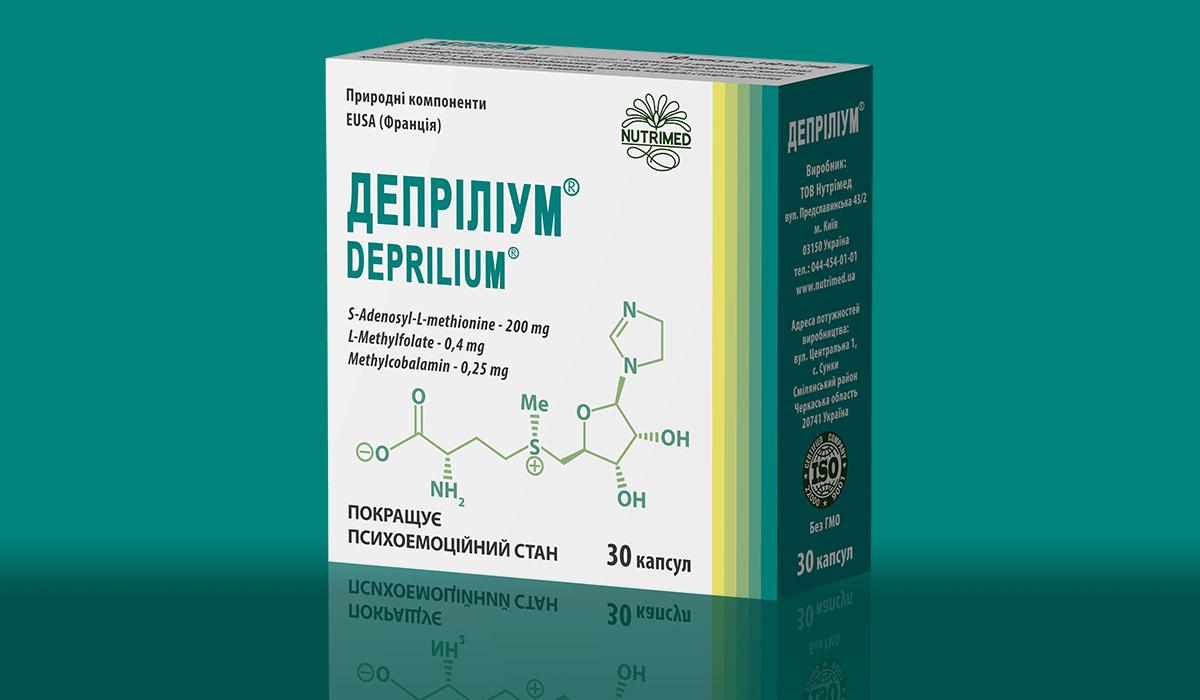 Депріліум 30 капсул